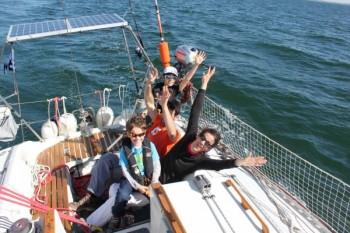Sortie voilier Morbihan avec Avel Plaisance